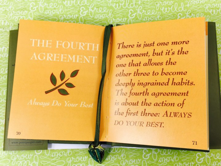 Fourth Agreement Choice Image Agreement Letter Format