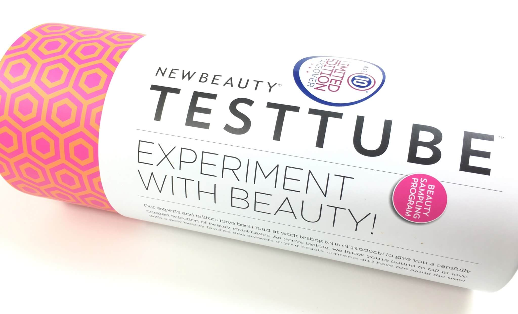 New Beauty Test Tube September 2016 Subscription Box Review