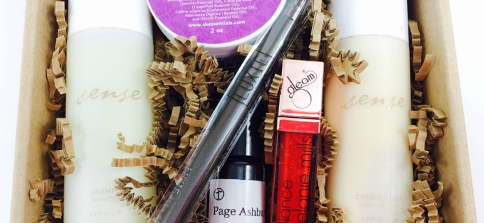 Vegan Cuts Beauty Box September 2016 Subscription Box Review