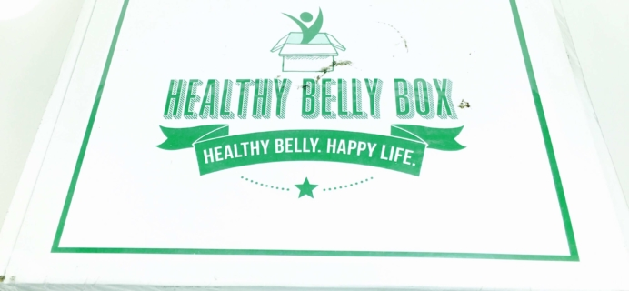 Healthy Belly Box September 2016 Subscription Box Review + Coupon
