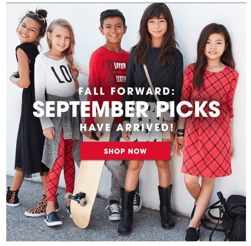 FabKids September 2016 Collection + First Outfit $10!