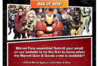 Loot Crate Marvel Gear + Goods Subscription Announced!