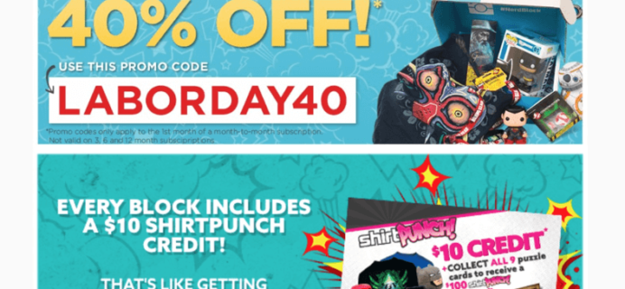 40% Off First Nerd Block Coupon – This Weekend Only!