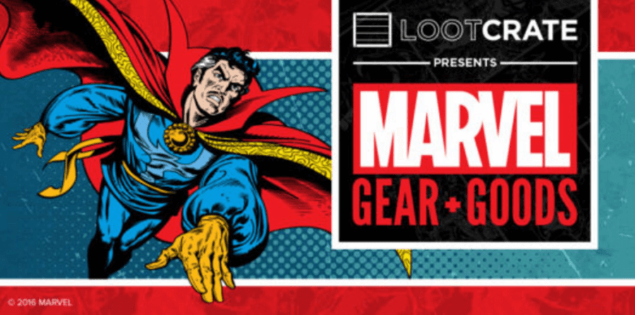 Loot Crate Marvel Gear + Goods November 2016 Spoilers