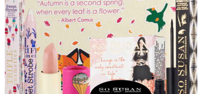 So Susan Lip Love September 2016 Full Spoilers & Coupon!