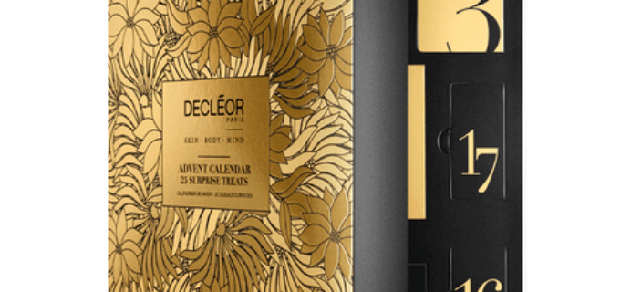 DECLÉOR Advent Calendar 2016 Available Now!
