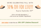 Yogi Surprise Flash Sale: 30% Off For Life!