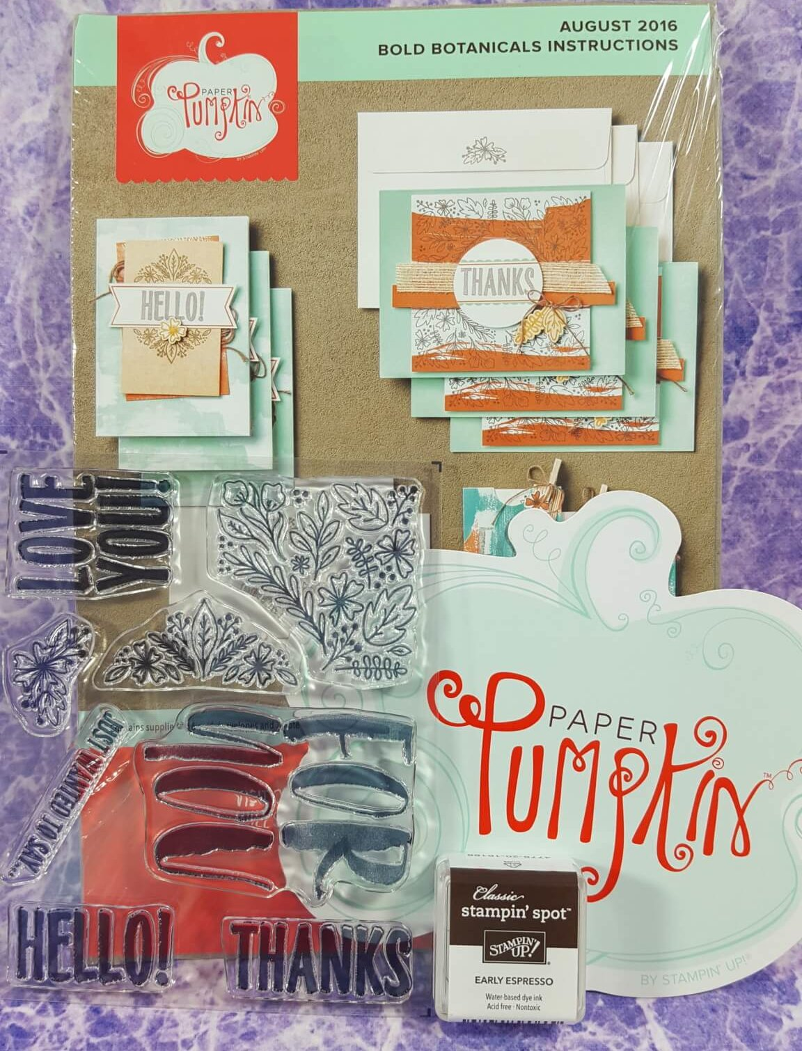 Paper Pumpkin August 2016 Subscription Box Review