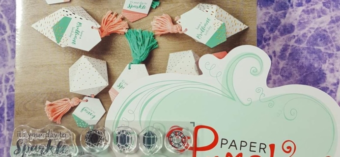 Paper Pumpkin July 2016 Subscription Box Review