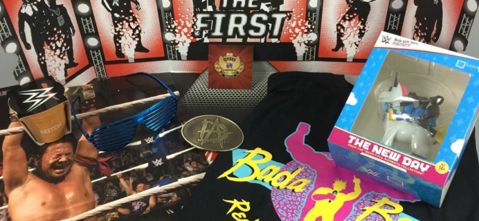 WWE Slam Crate October 2016 Review + Coupons