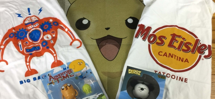 My Geek Box September 2016 Subscription Box Review
