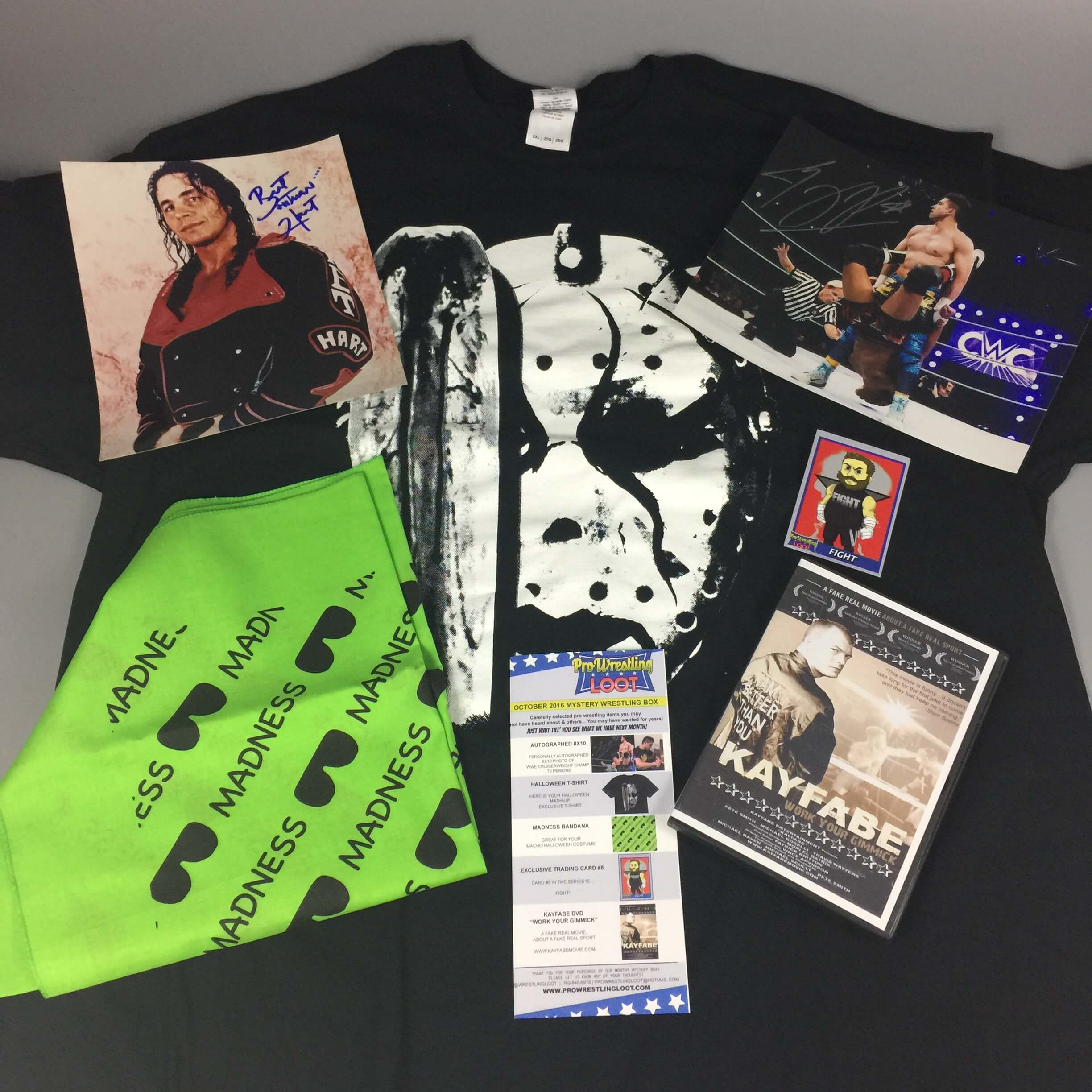 Pro Wrestling Loot October 2016 Subscription Box Review + Coupon