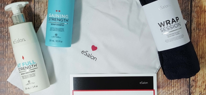 eSalon The Match-Up Subscription Box Review + Free Trial – October 2016