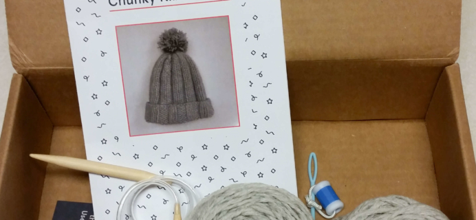 Knit-Wise Subscription Box Review – October 2016