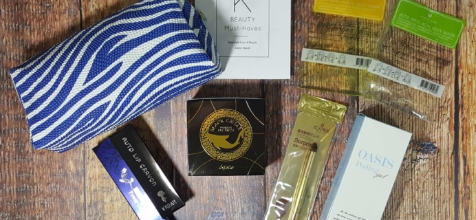 September 2016 Beauteque BB Bag Subscription Box Review + Coupon