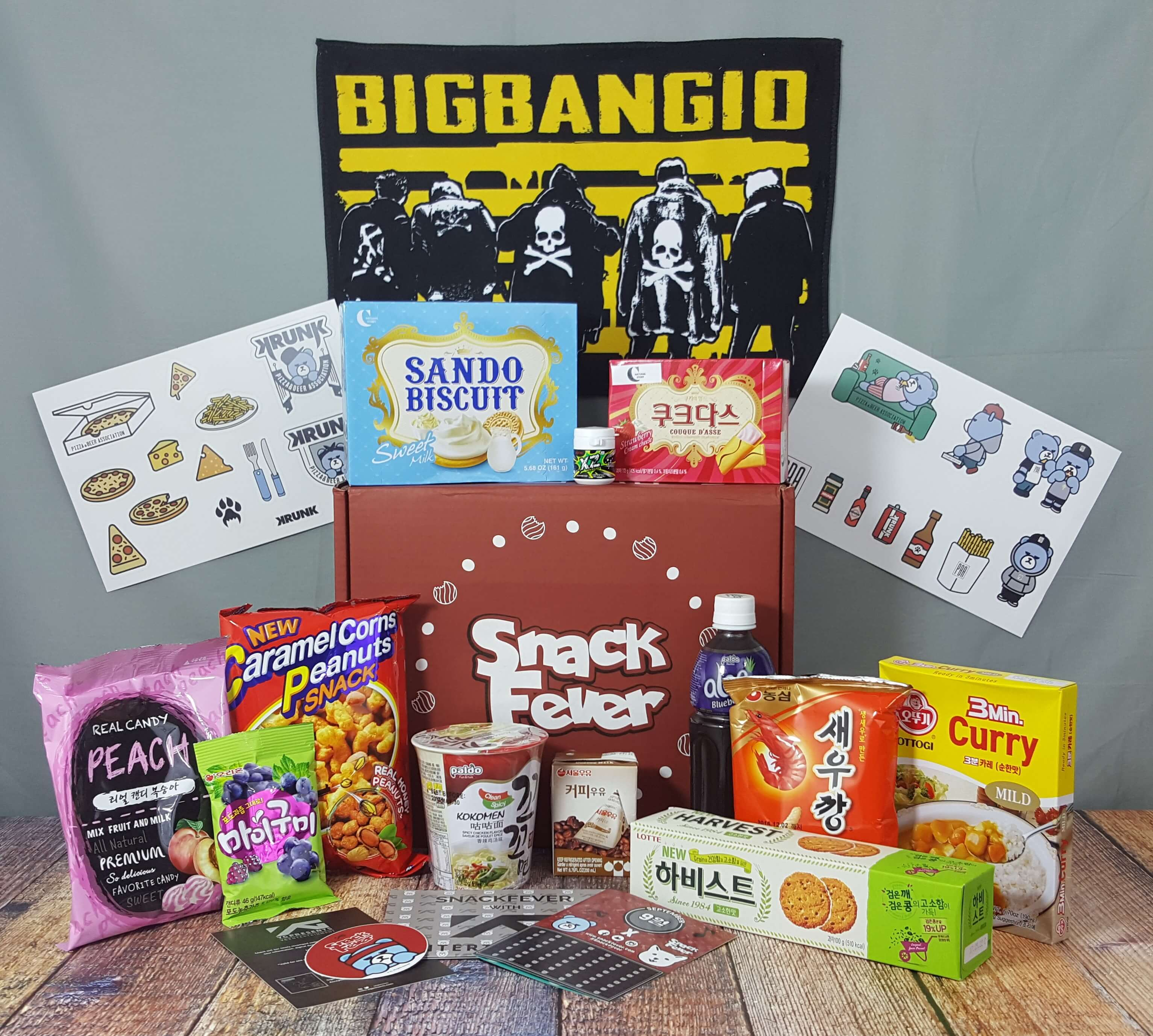September 2016 Snack Fever Subscription Box Review + Coupon – Deluxe Box!