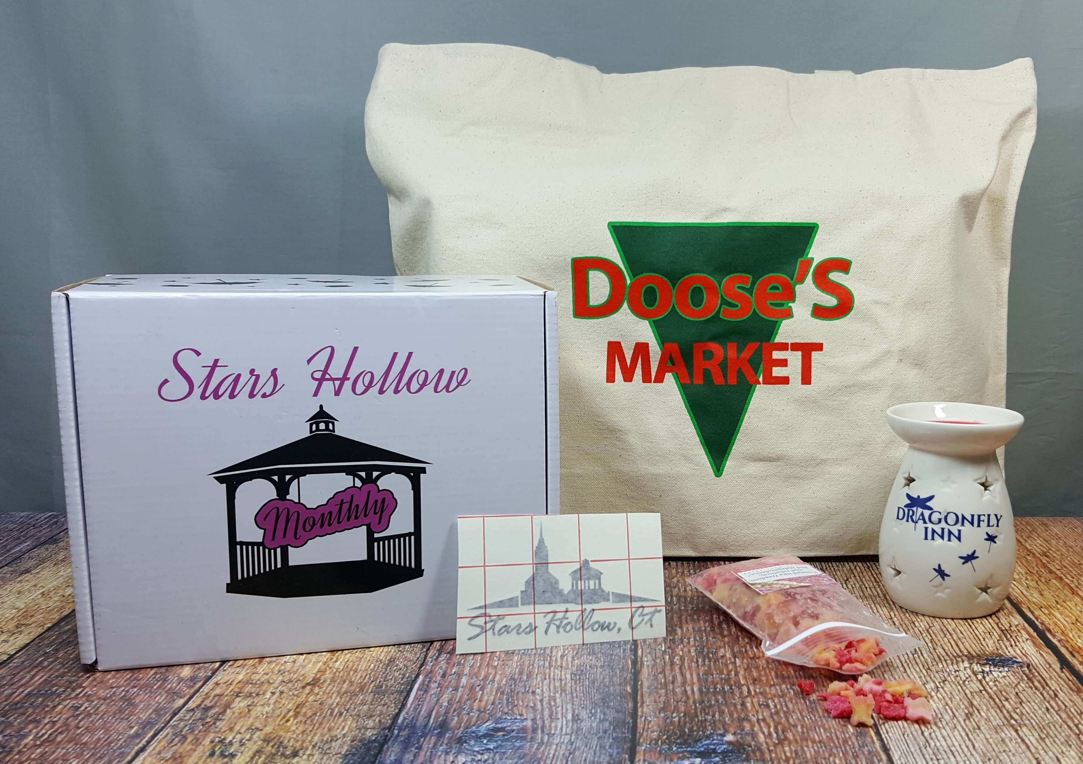 Stars Hollow Monthly September 2016 Subscription Box Review
