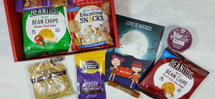 October 2016 Love With Food Subscription Box Review + Coupons