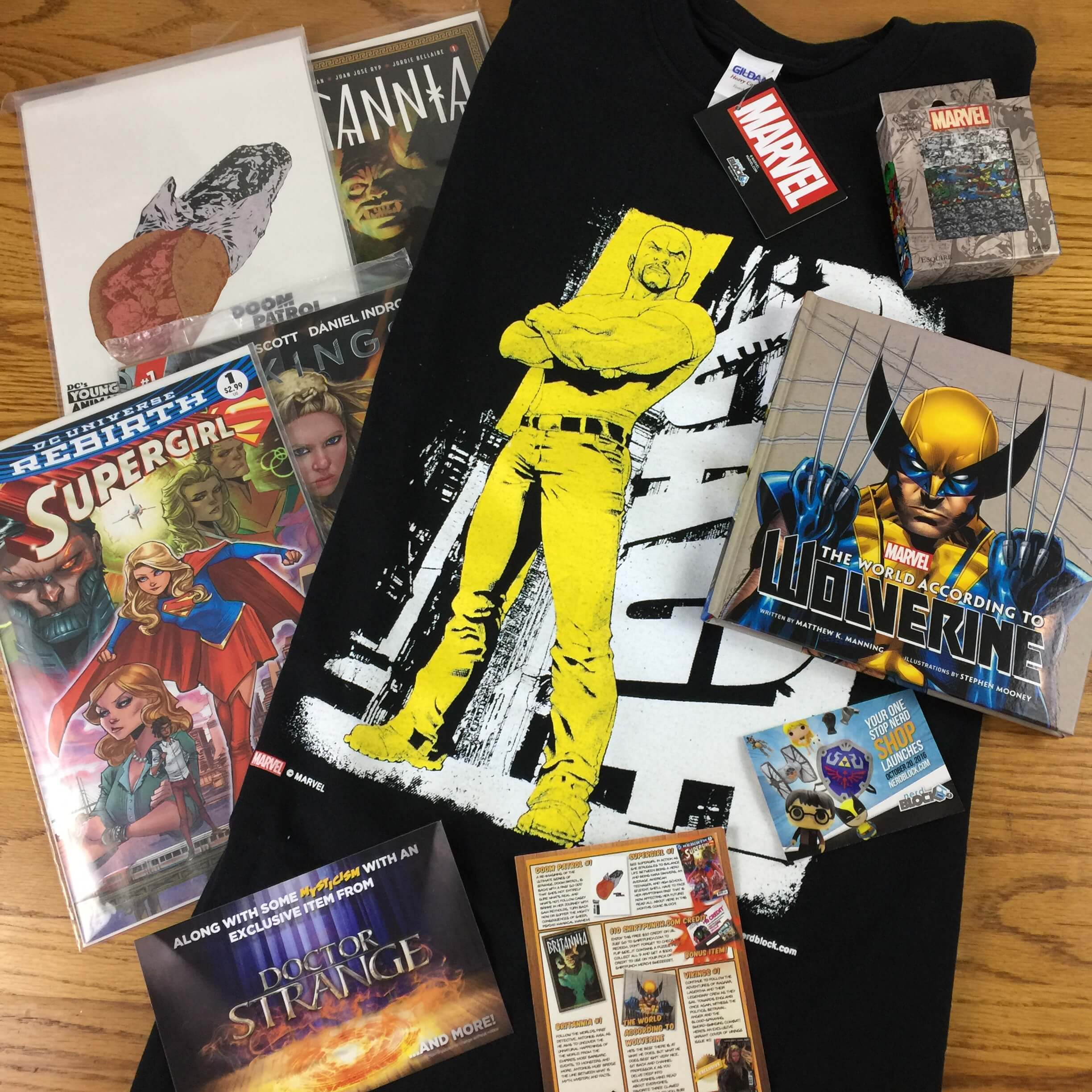 Comic Block Subscription Box Review & Coupon – September 2016