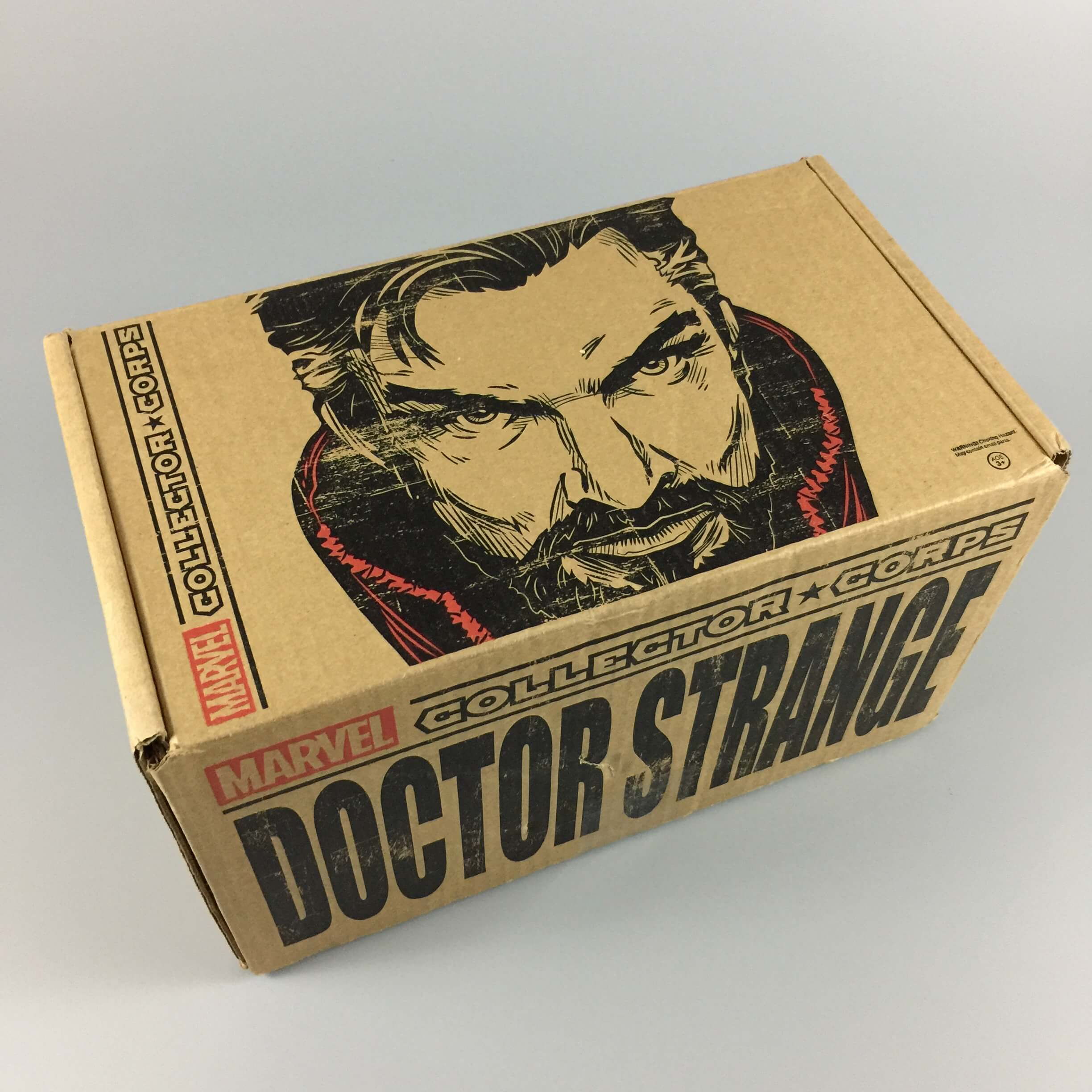Marvel Collector Corps October 2016 Subscription Box Review – Doctor Strange