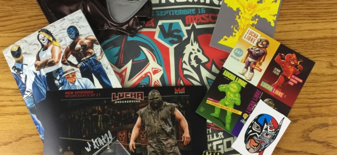 Lucha Loot Subscription Box Review & Coupon – September 2016