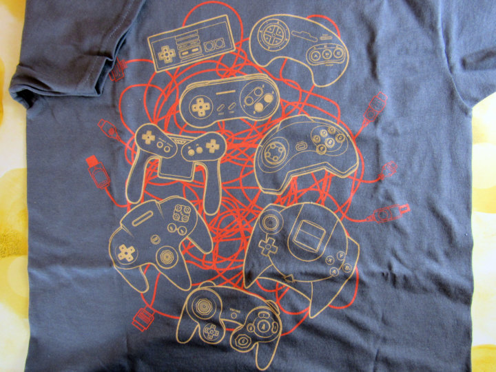 Exclusive T-Shirt Classic Console Controllers