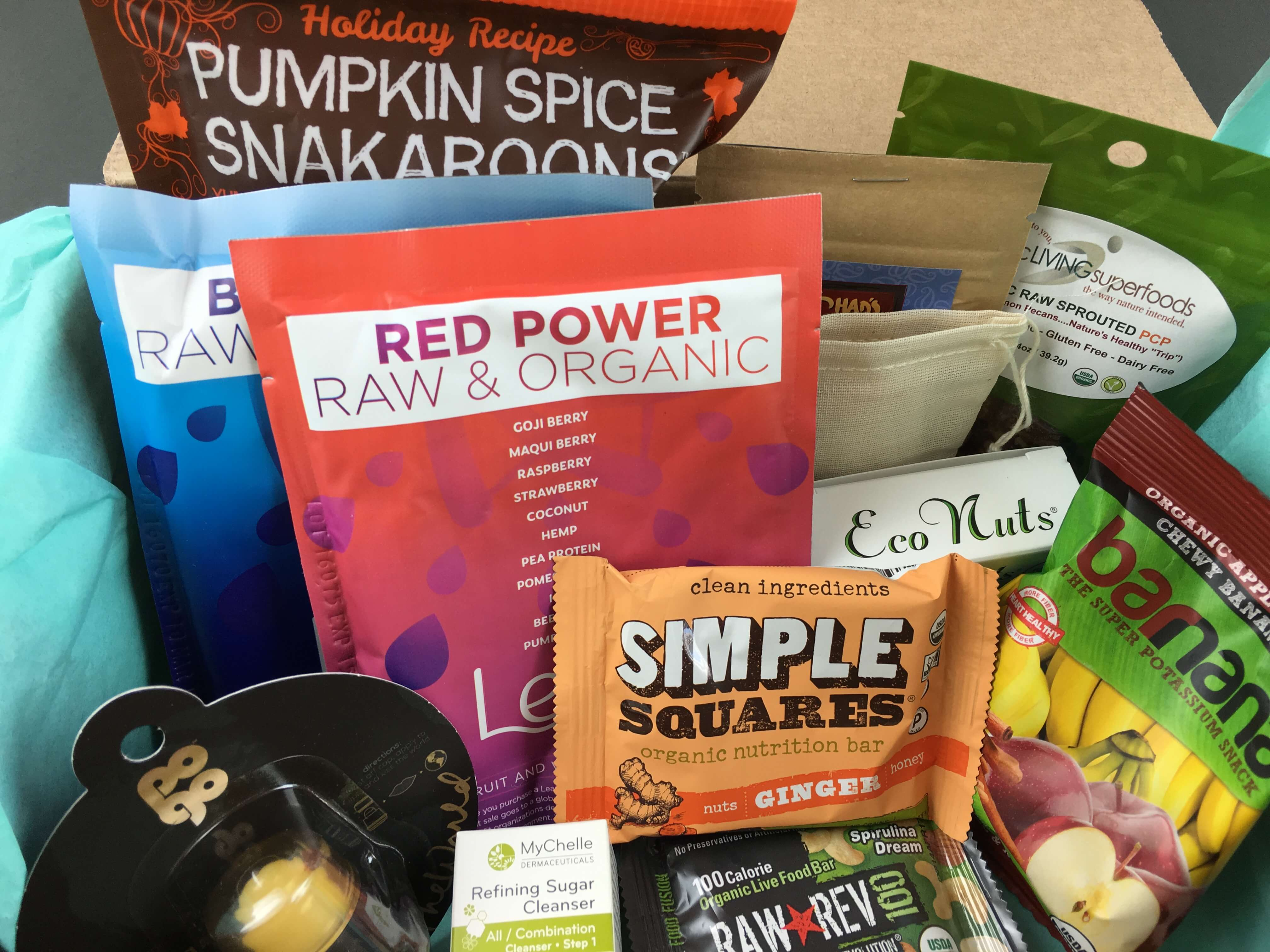 RawBox October 2016 Subscription Box Review + Coupon