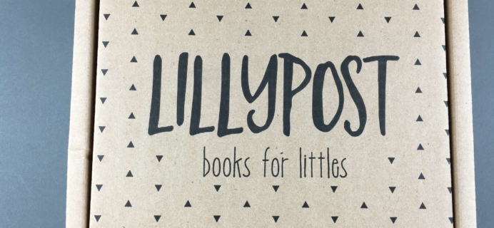 Lillypost October 2016 Board Book Subscription Box Review
