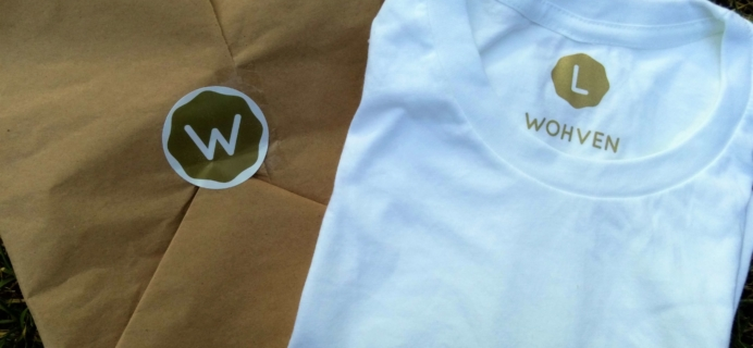 Wohven Subscription Box Review – September 2016