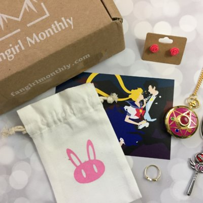 Fangirl Monthly October 2016 Subscription Box Review + Coupon