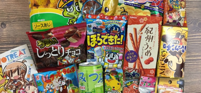 Tokyo Treat September 2016 Subscription Box Review
