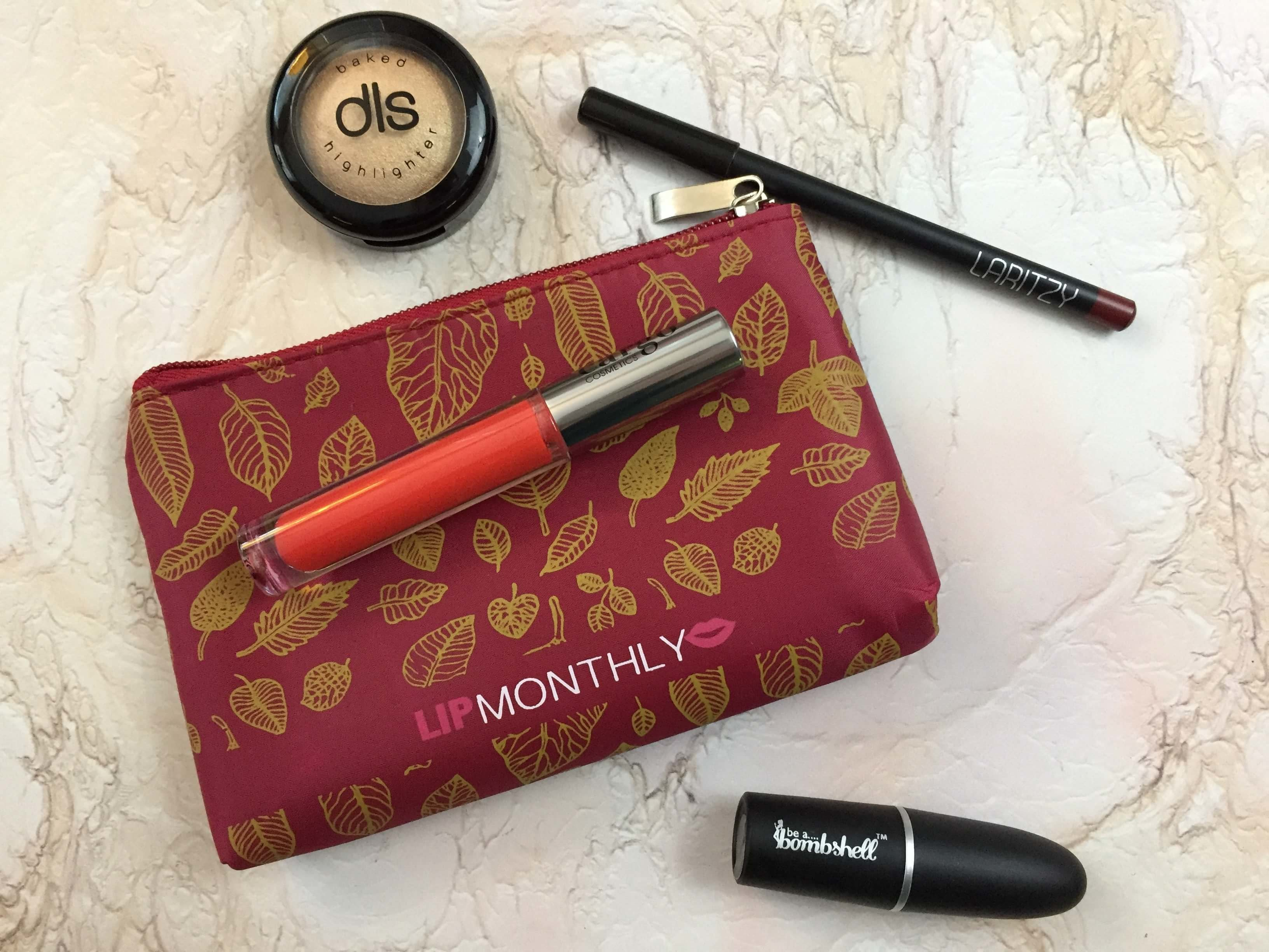 Lip Monthly October 2016 Subscription Box Review & Coupon