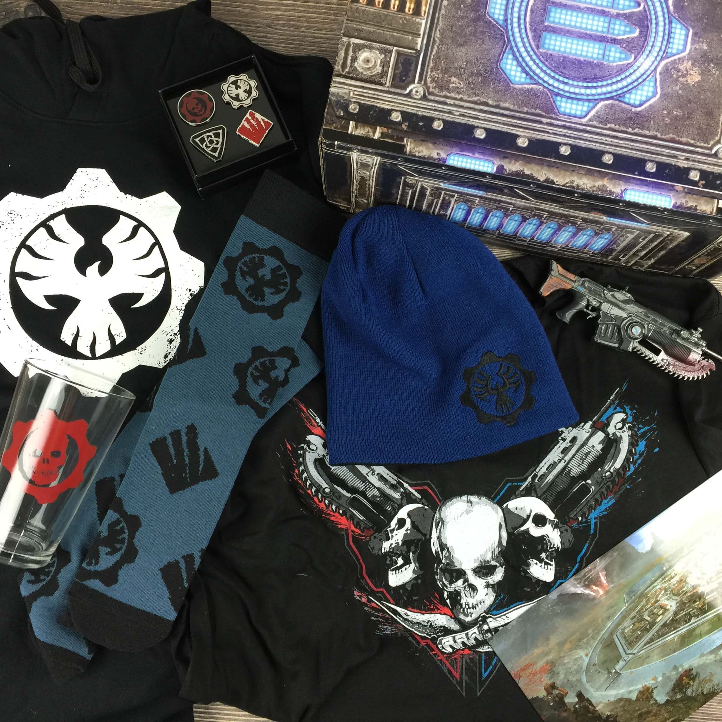Loot Crate GEARS OF WAR 4 Limited Edition Crate Review