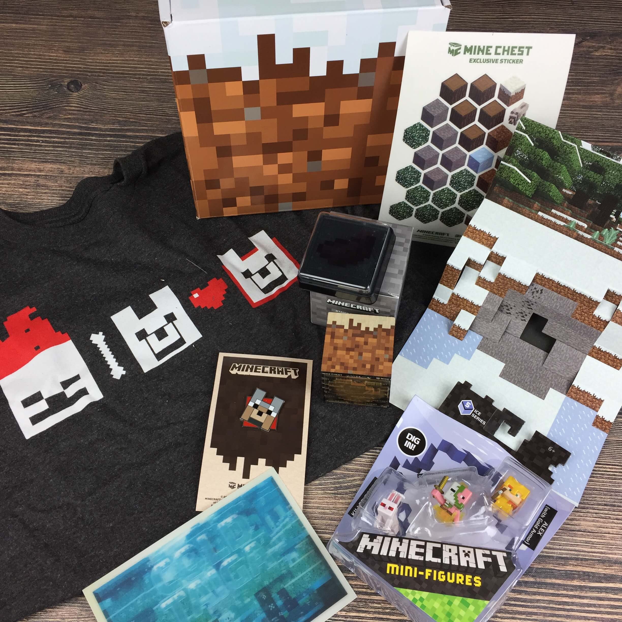 Mine Chest October 2016 Subscription Box Review – Cold Taiga!