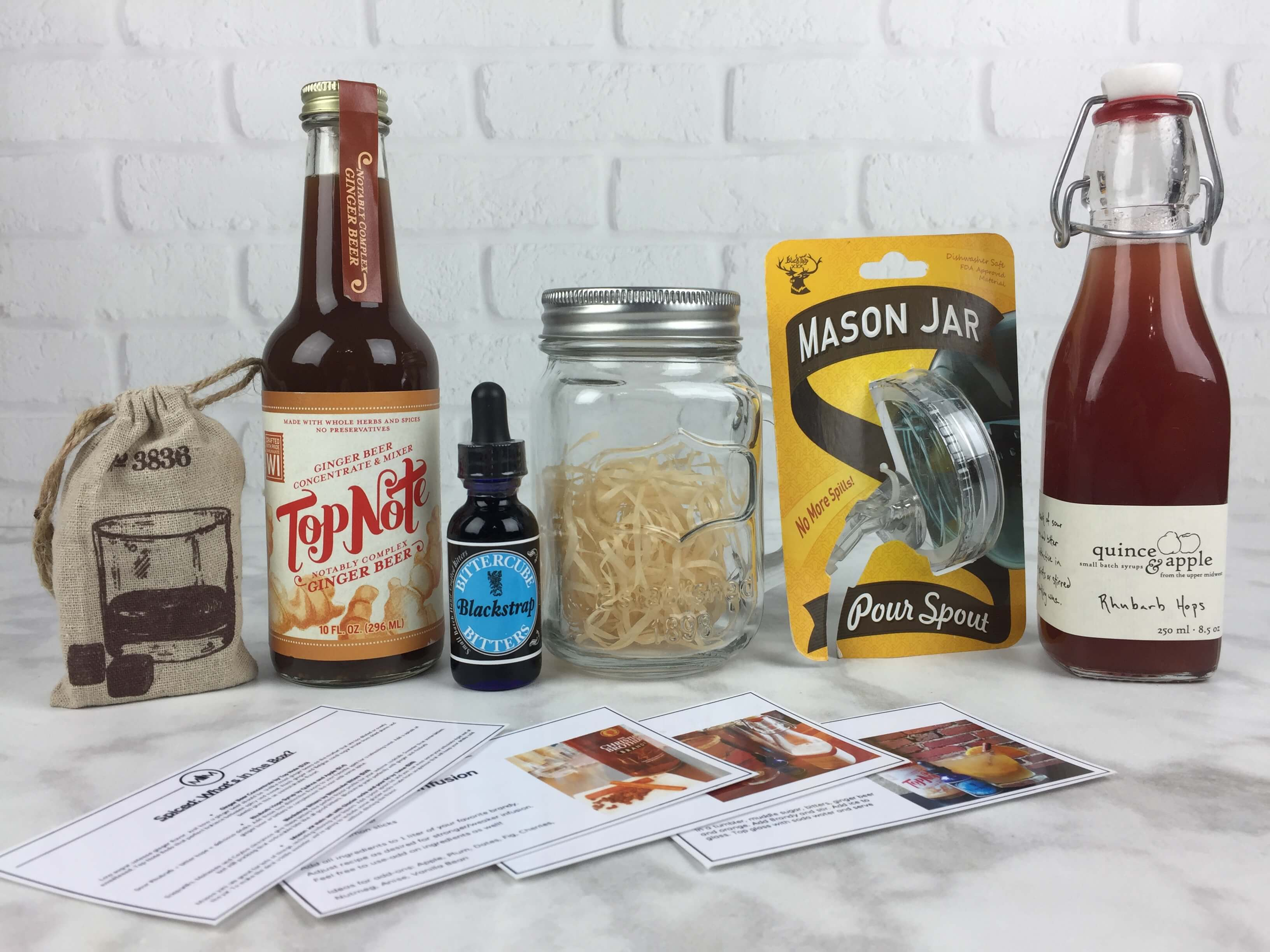 Mixology Monthly October 2016 Subscription Box Review + Coupon