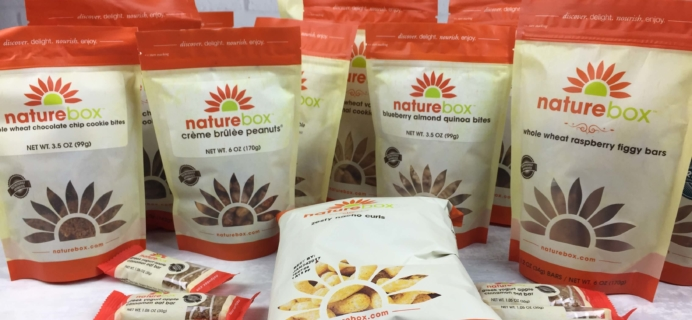 NatureBox Gift Boxes Available Now + Coupon!