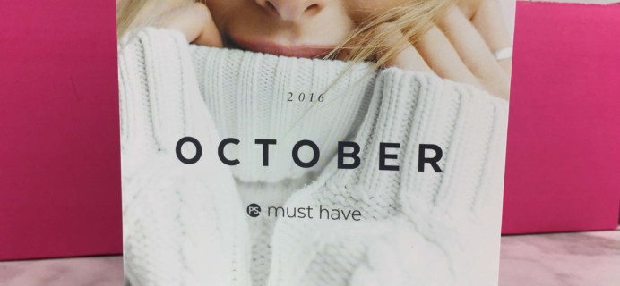 POPSUGAR Must Have Box October 2016 Review & Coupon