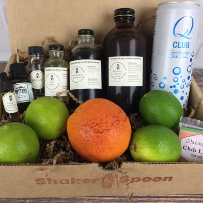 Shaker & Spoon October 2016 Subscription Box Review & Coupon