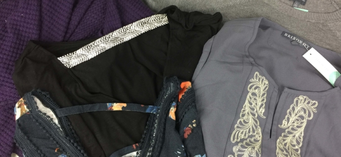 Stitch Fix November 2016 Review