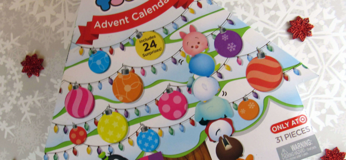 Target Disney Tsum Tsum Mini Figures Advent Calendar 2016 Mini Review
