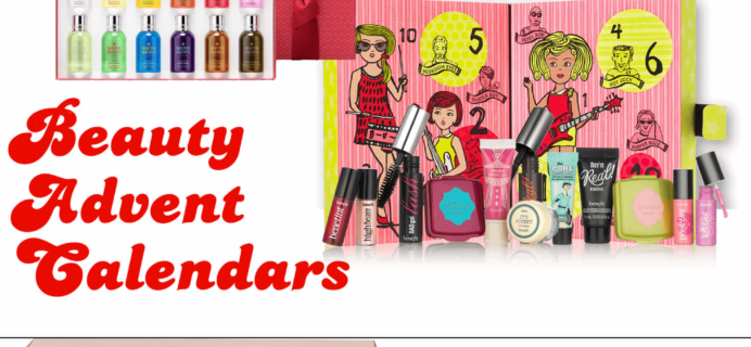 Best Beauty Advent Calendars 2016!