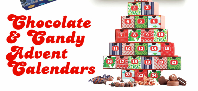 Chocolate & Candy Advent Calendars For a Sweet Christmas Countdown!