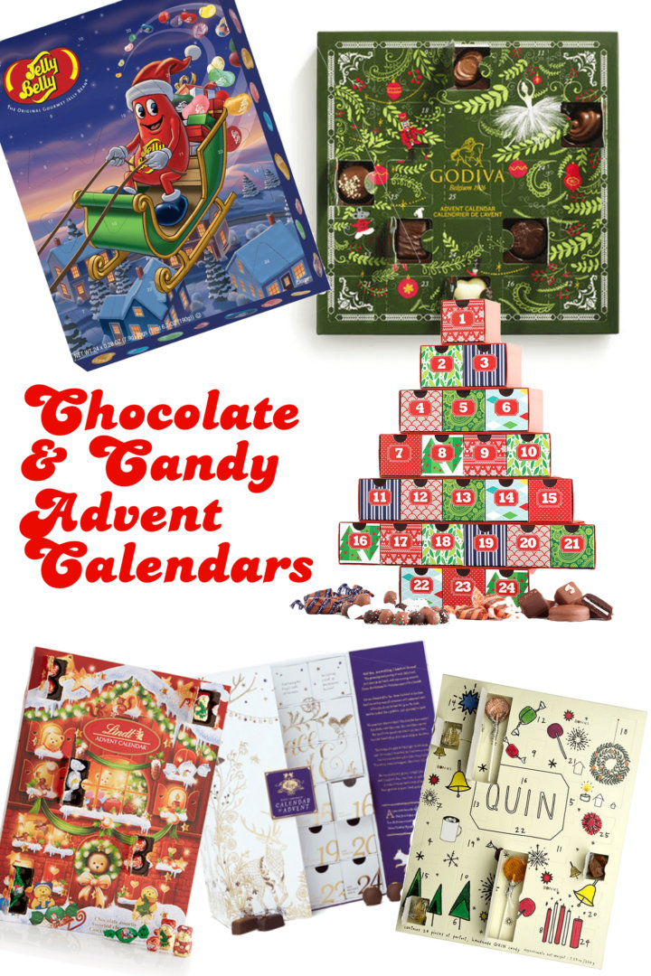 2017 Chocolate & Candy Advent Calendars For a Sweet Christmas ...