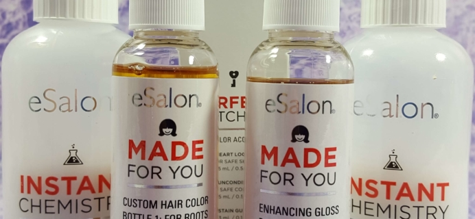 October 2016 eSalon Custom Hair Color Subscription Review + Coupon