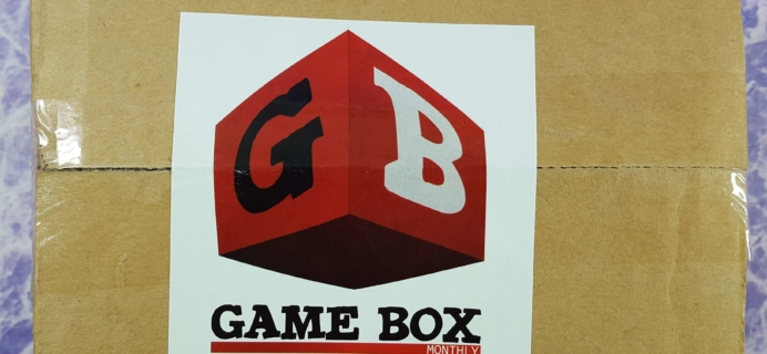 Game Box Monthly October 2016 Subscription Box Review