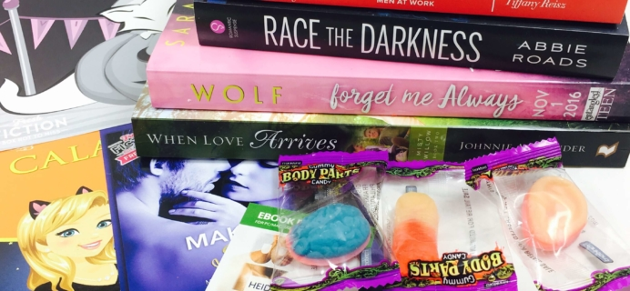 Fresh Fiction Box October 2016 Subscription Box Review + Coupon