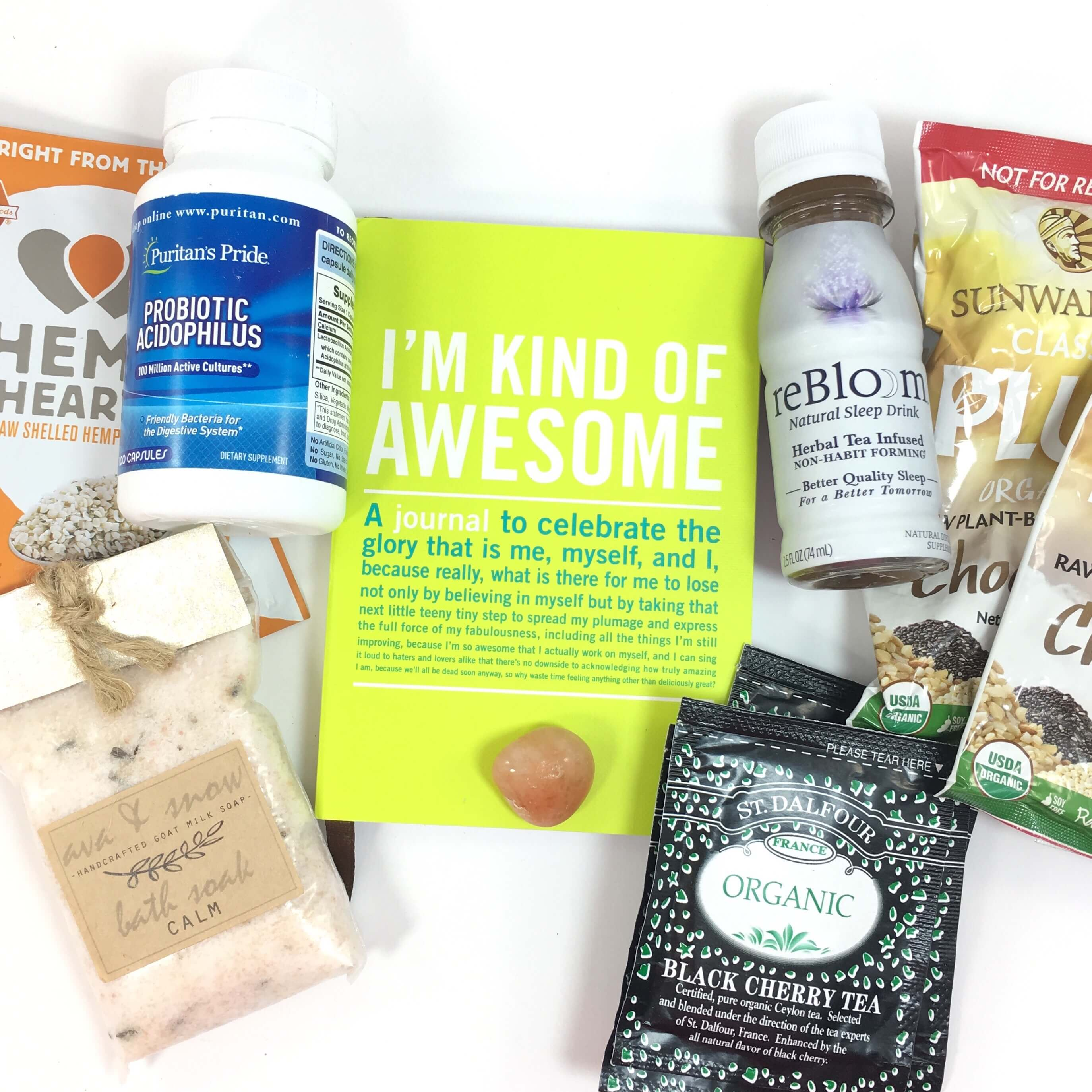 BetterU Box October 2016 Subscription Box Review