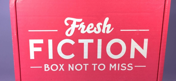Fresh Fiction Box November 2016 Subscription Box Review + Coupon