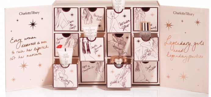 Charlotte Tilbury Beauty Advent Calendar 2016 Available Now!