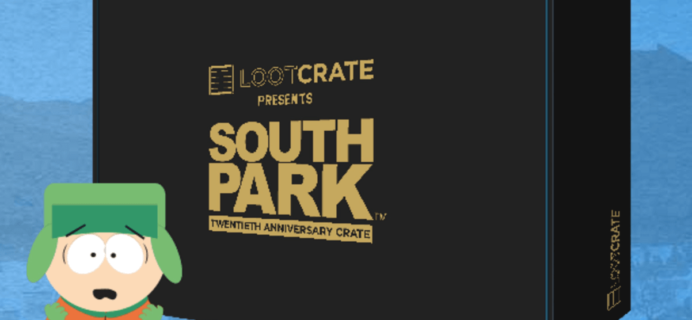 South Park Loot Crate Limited Edition Box FULL SPOILERS!
